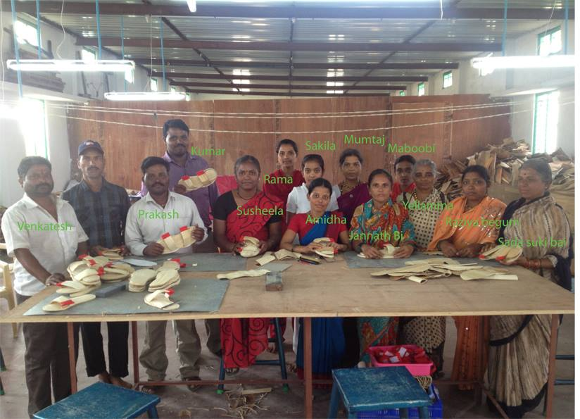 The artisans in Gadag, India